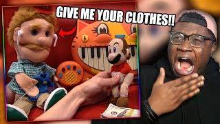 MARIO BABYSITS GOODMAN'S SON! | SML Movie: Mr. Goodman's Son Reaction!