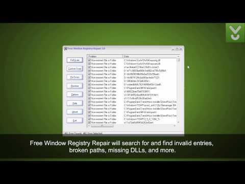 Free Window Registry Repair - Scan, repair, and optimize Registry - Download Video Previews