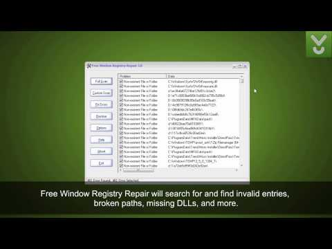 Free Window Registry Repair - Scan, repair, and optimize Registry - Download Video Previews