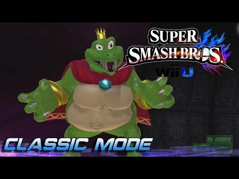 THE KING HAS RETURN/Smash Wii U (King K Rool)