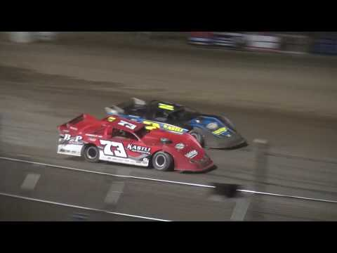 IMCA Late Model feature Independence Motor Speedway 8/12/17