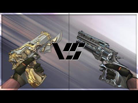 CrossFire 2.0 : RAGING BULL-GUN KNIFE Vs DESERT EAGLE VIP's [VVIP Pistol Comparison]
