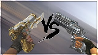 CrossFire 2.0 : RAGING BULL-GUN KNIFE vs DESERT EAGLE VIP's [VVIP Pistol Comparison]