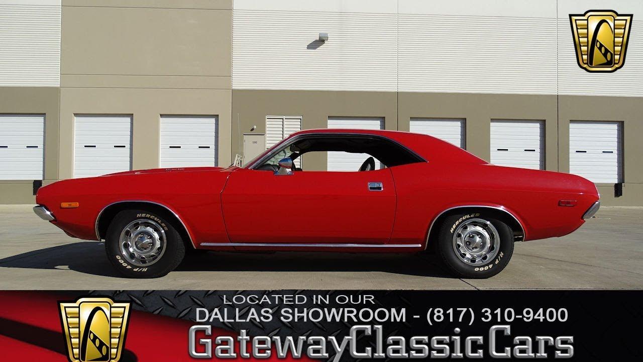 1972 Dodge Challenger 340 #620-DFW Gateway Classic Cars of Dallas ...