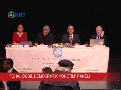 ''OHAL Değil Demokratik Yönetim'' Paneli