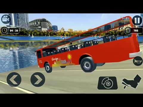 Sea Bus Driving, Tourist Coach Bus Duty Driver #1,  Fun Games, Car Racing, Android iOS Games