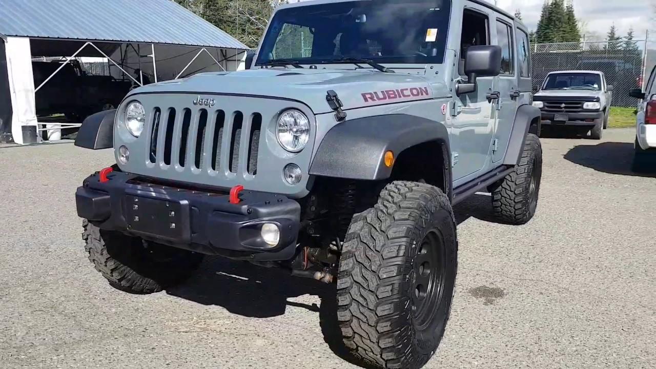 2014 Jeep Rubicon X (Rubicon Hard Rock)