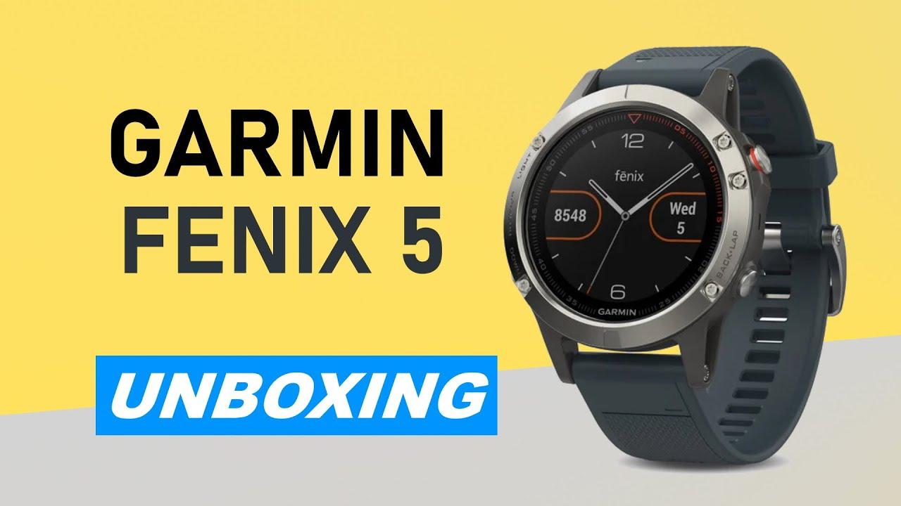 eeee160c705a16 Garmin fenix 5 Unboxing HD (010-01688-01) - YouTube