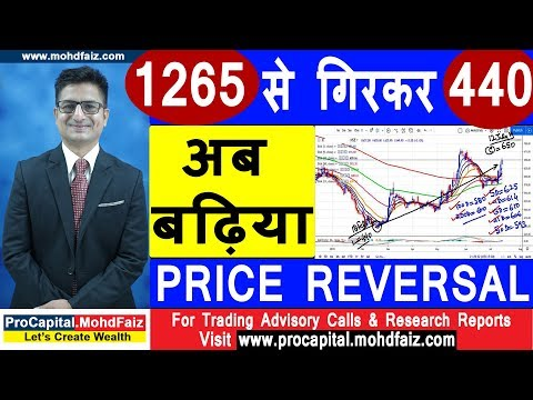 1265 से गिरकर 440 अब बढ़िया PRICE REVERSAL | Latest Share Market Tips | Latest Stock Market Tips