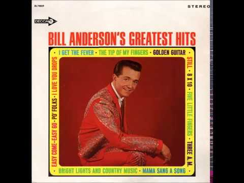 Bill Anderson - Mama Sang A Song (#1 hit in 1962)
