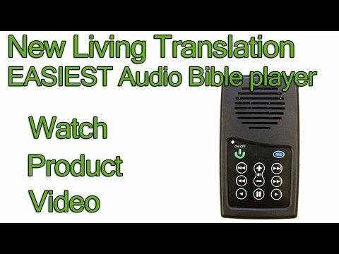 NLT Bible - New Living Translation EASIEST Audio Bible player - YouTube