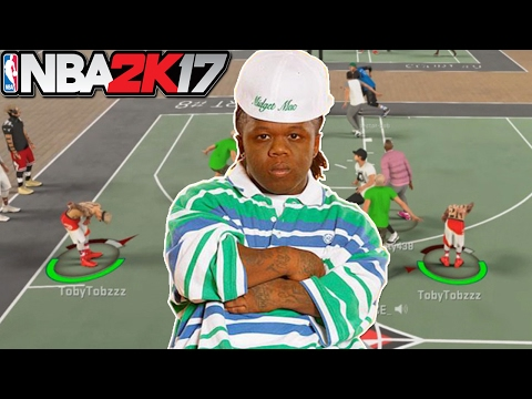 MIDGET RETURNS TO MYPARK!! GREEN LIGHT NATION KAT!! NBA2K17 MYPARK