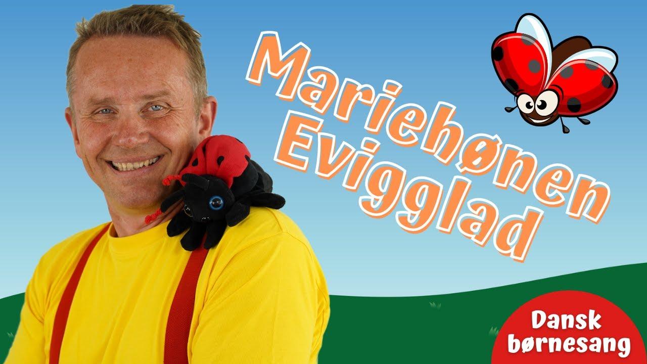 Mariehønen Evigglad | Børnesang | Fagter | Bevægelse | Michael Back