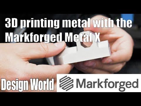 3D printing metal with the Markforged Metal X