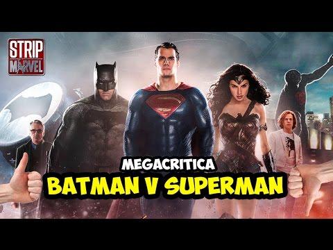 CRÍTICA BATMAN V SUPERMAN | Strip Marvel