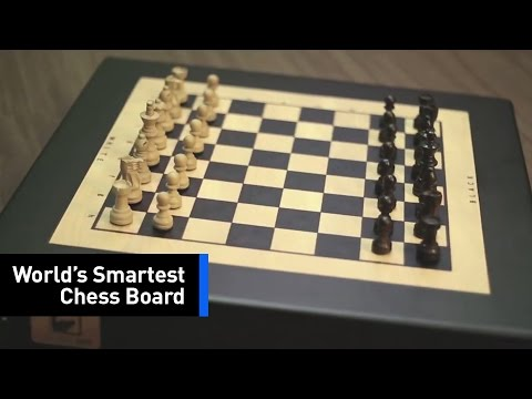 Square Off With The World's Smartest Chess Board