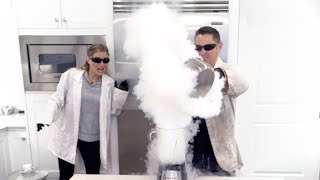 Blending Liquid Nitrogen!!!