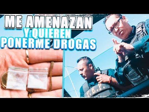Policías me amenazan y quieren meter droga