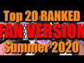 FAN VERSION: Summer 2020 Billboard Top 20 Ranked: Worst to Best