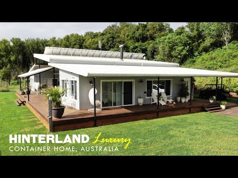 Hinterland Container Home by Container Build Group Australia