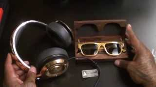 Monster 24K Gold Professional DJ-style headphones