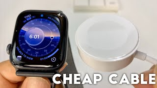 Cheap OPSO Apple Watch Charger Cable Review
