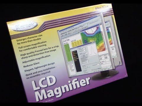 REVIEW Kantek Max View LCD Magnifier