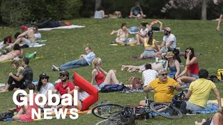 """Coronavirus outbreak: Montreal officials ask residents to remain """"vigilant"""" during heat wave 