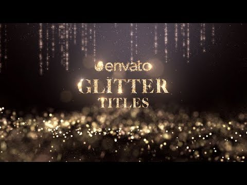 glitter-titles-|-after-effects-template