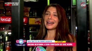 Roxana Muñoz confesó que Kike Acuña es un padre ausente - SQP