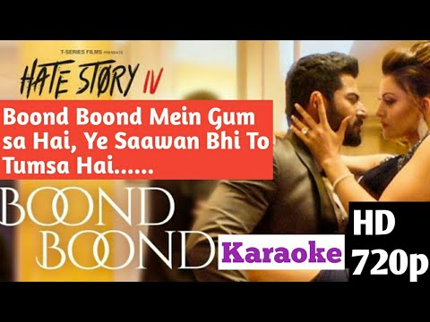 Boond Boond Mein Karaoke Instrumental | HD Lyrical Video | Hate Story IV |