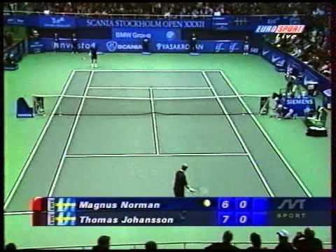 ATP Stockholm 2000 Johansson vs Norman SF