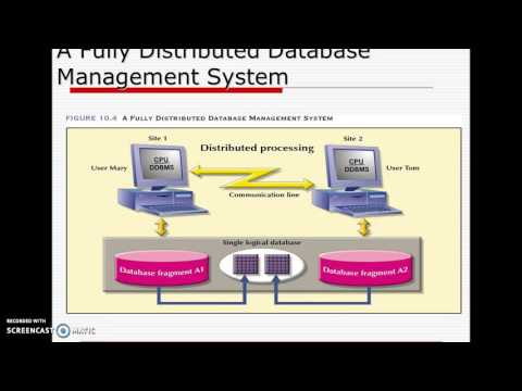 Distributed Database Management SystemBE13F05F027