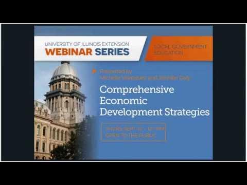 Comprehensive Economic Development Strategies at Work in Illinois