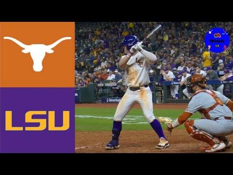 Texas Vs #11 LSU | 2020 College Baseball Highlights