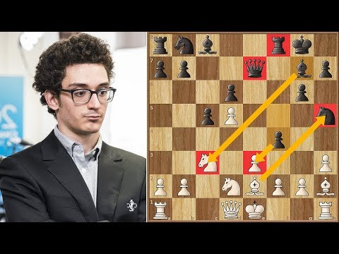 Benoni is Back! | Xiong VS Caruana | US Championship 2018.