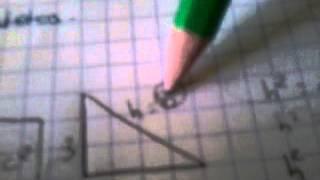 Geometría (hipotenusa,cateto)