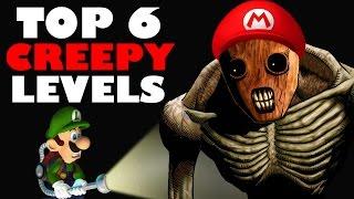 Top 6 CREEPIEST Levels In Nintendo Games