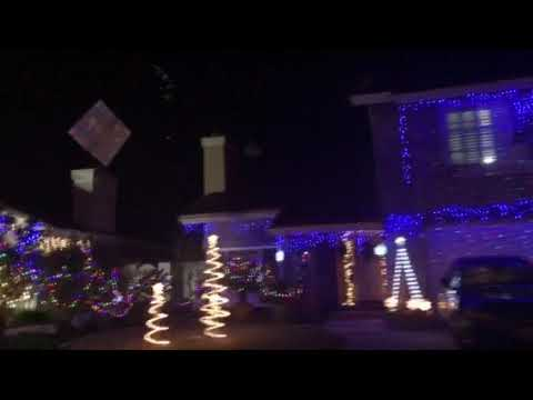 Christmas Card Lane Rancho Penasquitos Youtube