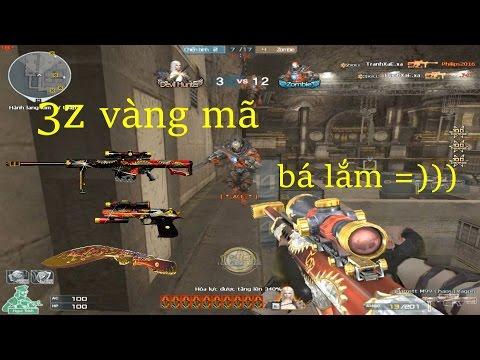 [ Bình Luận CF ] Barrett M99-Chaos Dragon - Tiền Zombie v4