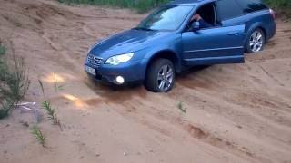 Subaru Outback & Forester off road (motocross sand track)