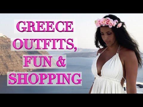Greece Fun & Shopping Vlog - Louis Vuitton, Chanel, & What I Wore