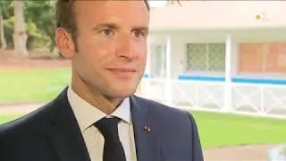 Entretien exclusif de Emmanuel Macron en Guadeloupe