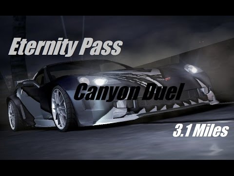 Need For Speed Carbon PC - Gold Canyon Duel Challenge