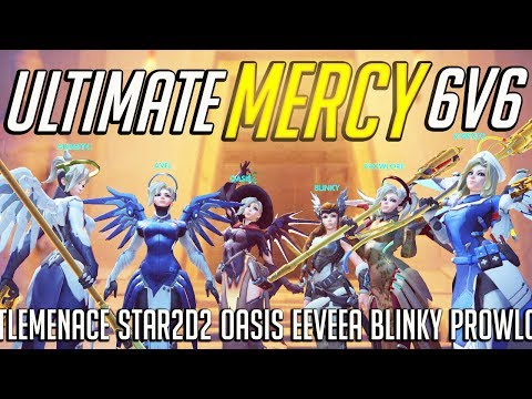 Kill compilation: Ultimate Mercy 6v6 ft. Oasis, EeveeA, Star2D2, Blinky, LittleMenace, and others