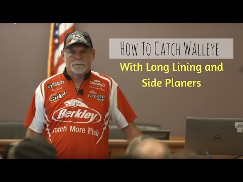 How To Catch Walleye - Longlining and Planer Boards