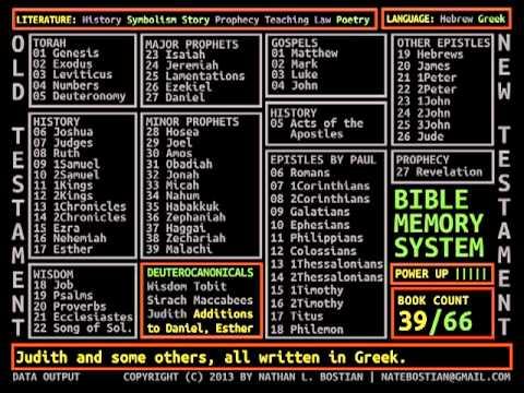 Bible Memorization Rap