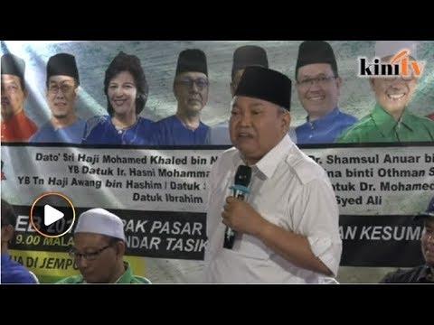 'Beri Umno pada Ibrahim Ali, biar saya jadi presiden'