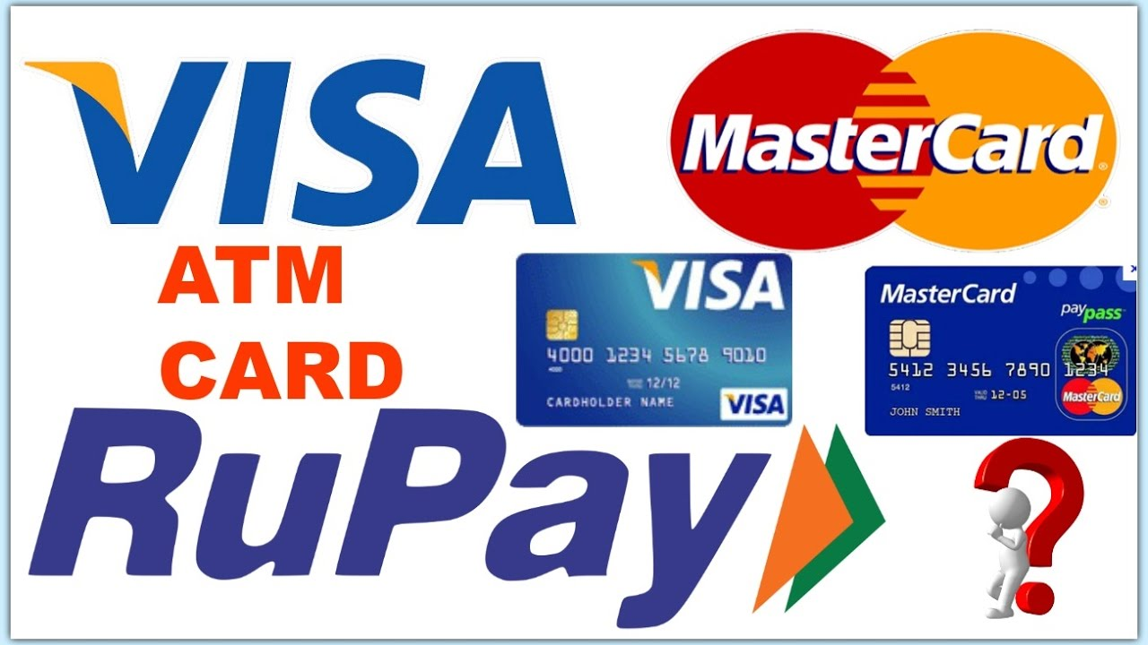 What Is Rupay Card Visa Card And Mastercard Explain Doovi