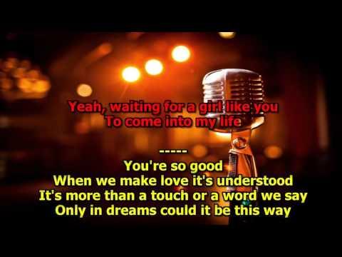 Waiting For Girl Like You - (HD Karaoke) Foreigner